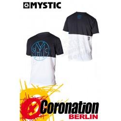 Mystic Drip Quick Dry S/S Black/White