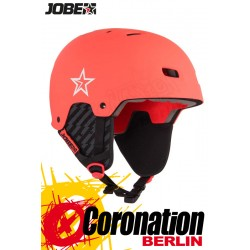 Jobe Base Wakeboard Helm - Water Helmet Coral Red 2018