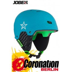 Jobe Base Wakeboard Helm - Water Helmet Teal Blue 2018