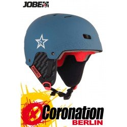 Jobe Base Wakeboard Helm - Water Helmet Steel Blue 2018