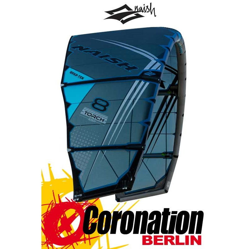 Naish Torch with ESP 2017 Kite 12m² Pro Performance Freestyle