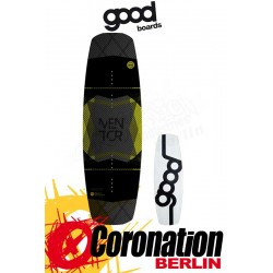 Goodboards MENTOR 2018 Wakeboard Carbon - High End, 3D Top