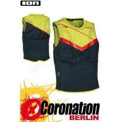 ION Vector Vest Comp 2016 Prallschutzweste vert/Yellow