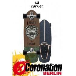 Carver Conlogue Sea Tiger C7 Street Surf Skateboard Complete 29,5''