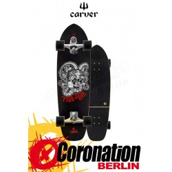 Carver Yago Skinny Goat C7 Street Surf Skateboard Complete 33,75''