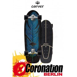 Carver Knox Quill Surfskate CX4 Street Surf Skateboard Complete 31,25''