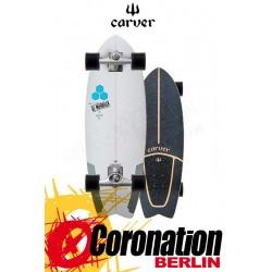 "Carver CI Pod Mod CX4 Street Surf Skateboard Complete 29.25"""