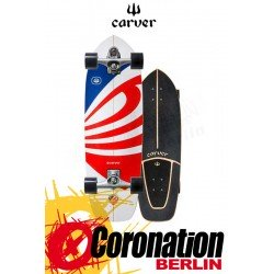 Carver USA Booster C7 Surfskate Skateboard Complete 30.75""