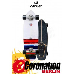 "Carver USA Resin CX4 Surfskate Skateboard Complete 32.5"""