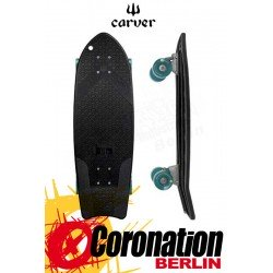Carver X Bureo 'The Ahi' Surfskate Skateboard Black Grip Tape Complete 27""