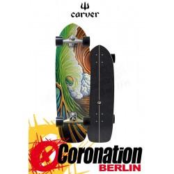 "Carver Greenroom CX4 Surfskate Skateboard Complete 33.75"""