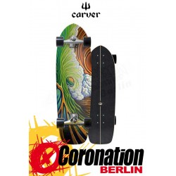 Carver Greenroom CX4 Surfskate Skateboard Complete 33.75""