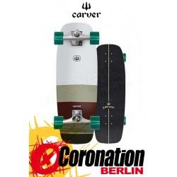 Carver Mini Simms CX4 Surf Skateboard Komplettboard 27.5''