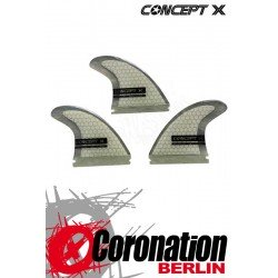 Concept X Wave Finnen Blade II G10 Honeycomb Fins (Future Base)