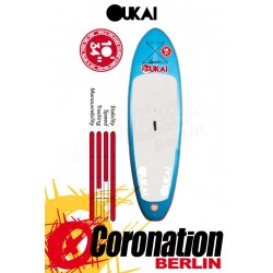 OUKAI SUP 10'x34'' Allround Stand Up Paddle Board Blue