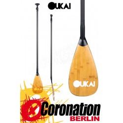 OUKAI SUP Paddle Carbon Bamboo