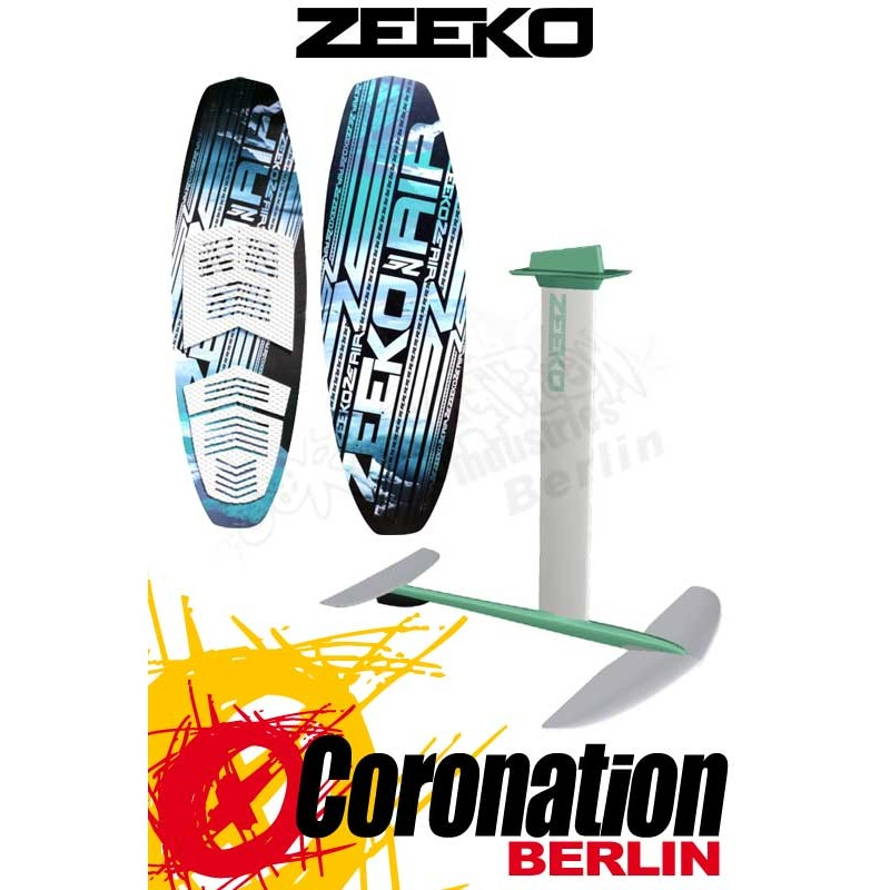 ZEEKO Pocket Air + Alloy Foil & Surfboard SET 2017