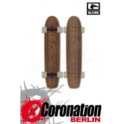 Globe The Plank Longboard Brown