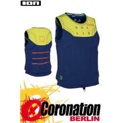 ION Collision Vest AMP 2016 Prallschutzweste Blue/Yellow