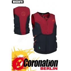 ION Collision Vest Select 2016 Prallschutzweste red/melange