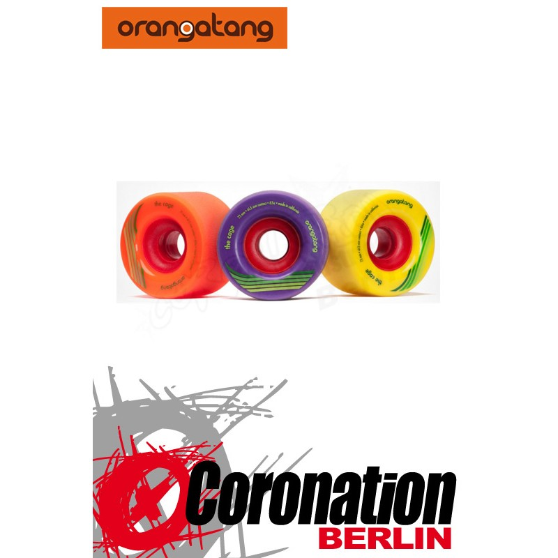 Orangatang roues The Cage 73mm Set Longboard roulettes