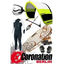Kitesurf Set Einsteiger Cabrinha Vector 12qm + Coronation Soul 1