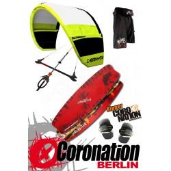 Kitesurf Set Einsteiger Cabrinha Vector 12qm + Coronation Ripper