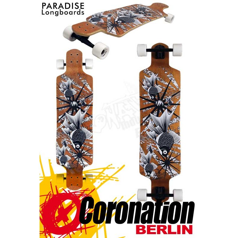 Paradise Sketchy Fish DropDown Complete Longboard