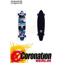 Paradise Island Life Kicktail complète Longboard