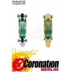 Paradise Bamboo Crest Kicktail Komplett Longboard