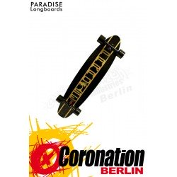 Paradise Longboard Gold Lines Kicktail 40x9