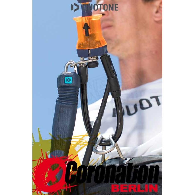 Duotone Kite Bar Zubehör Quick Release Wakestyle Kit blue 2019