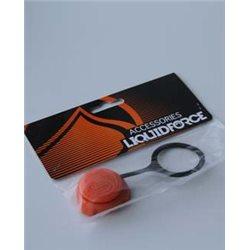 Liquid Force spare part Maxflow Kite Valve Cap (Orange)