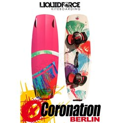 Liquid Force Bliss Kiteboard 2015 mit COMP Bindung