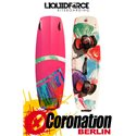 Liquid Force Bliss Kiteboard 2015 avec COMP pads et straps