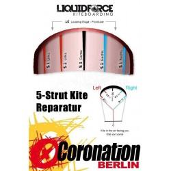 Liquid Force HIFI X 2014 boudin Ersatzschlauch Fronttube