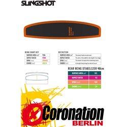 Slingshot Hover Glide Stabilizer 48 Rear Wing Carbon 2019