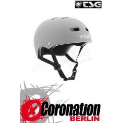 TSG Helm Skate/BMX Solid Colors Flat Grey