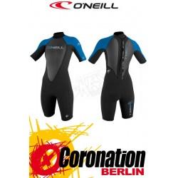 O'Neill Reactor Spring 2mm Shorty woman neopren suit BLK/RUBYBL