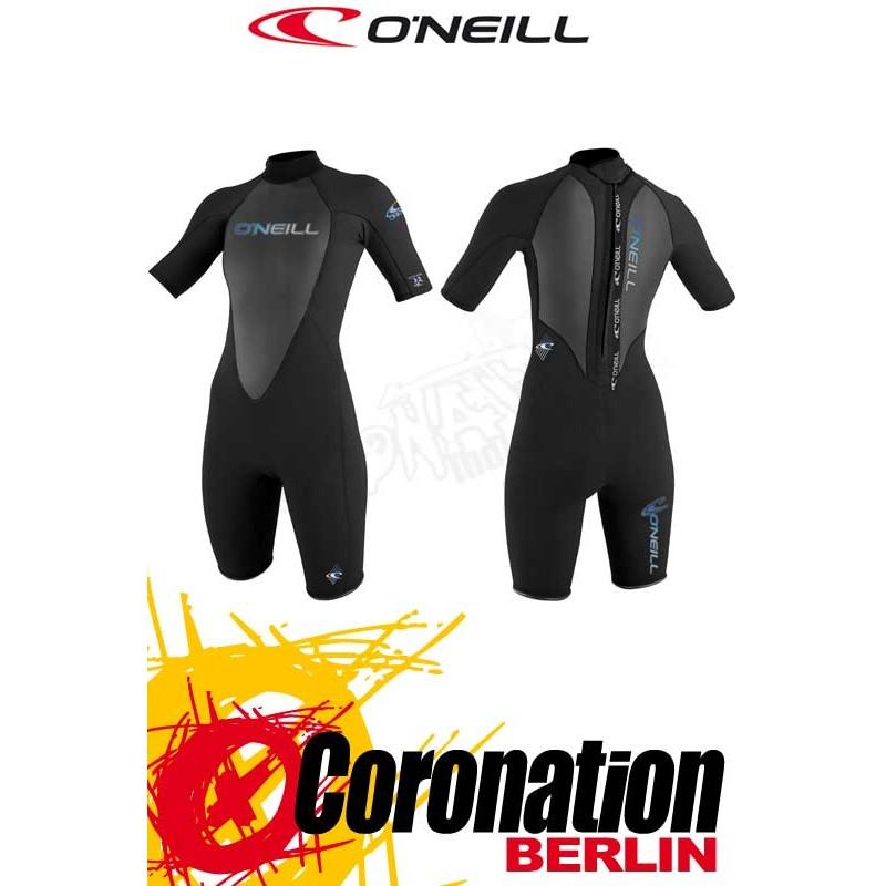 O'Neill Reactor Spring 2mm Shorty femme combinaison neoprène Black