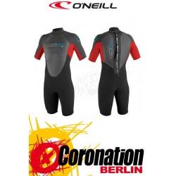 O'Neill Reactor Spring 2mm Shorty Neoprenanzug Black/Red/Black