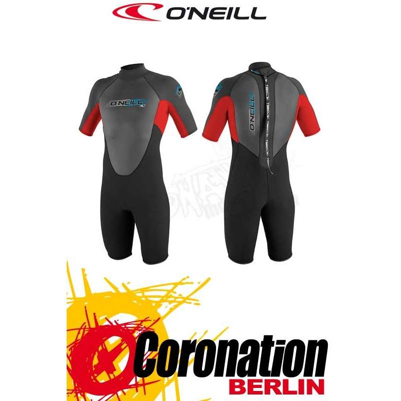 O'Neill Reactor Spring 2mm Shorty combinaison neoprène Black/Red/Black