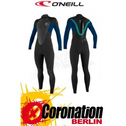 O'Neill Bahia 5/3 Full woman neopren suit BLK/DEEPSEA/LTAQUA