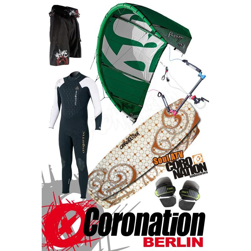 Kitesurf Set RRD Passion 13qm + Coronation Soul 133
