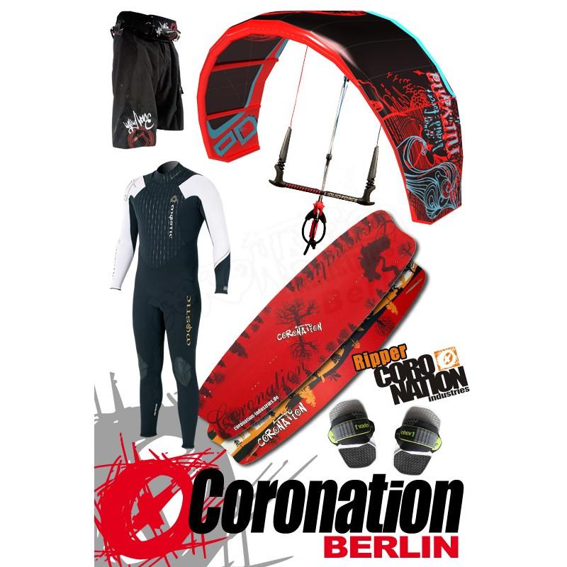 Kitesurf Set LF Nirvana 11qm + Coronation Ripper 132