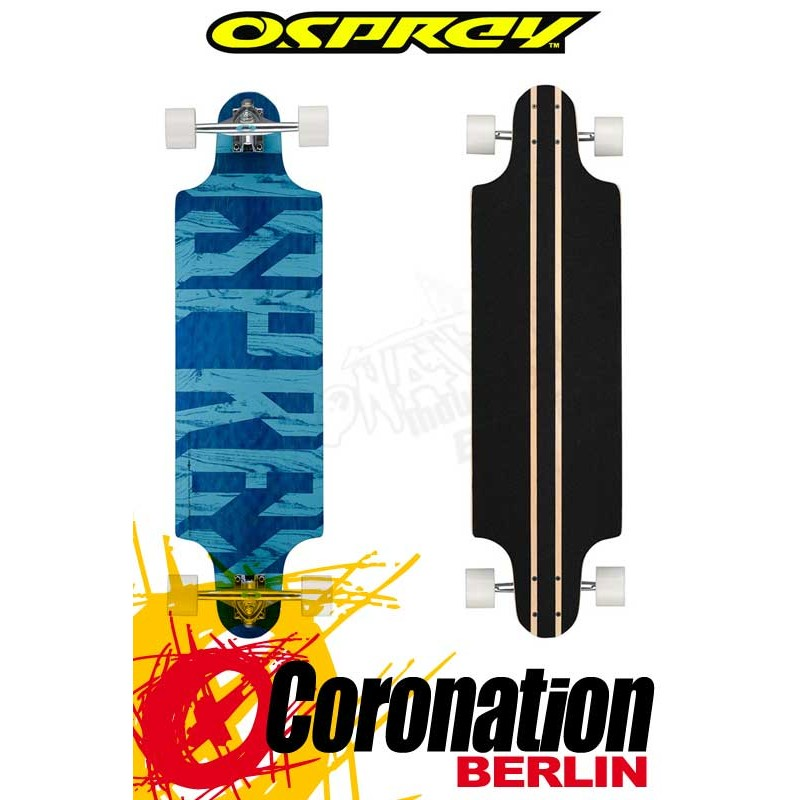 Osprey 'Text' Twin Tip Longboard