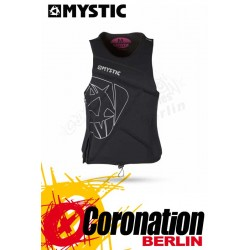 Mystic Star Frauen Wakeboard Vest Zip Woman Black Prachutz Weste