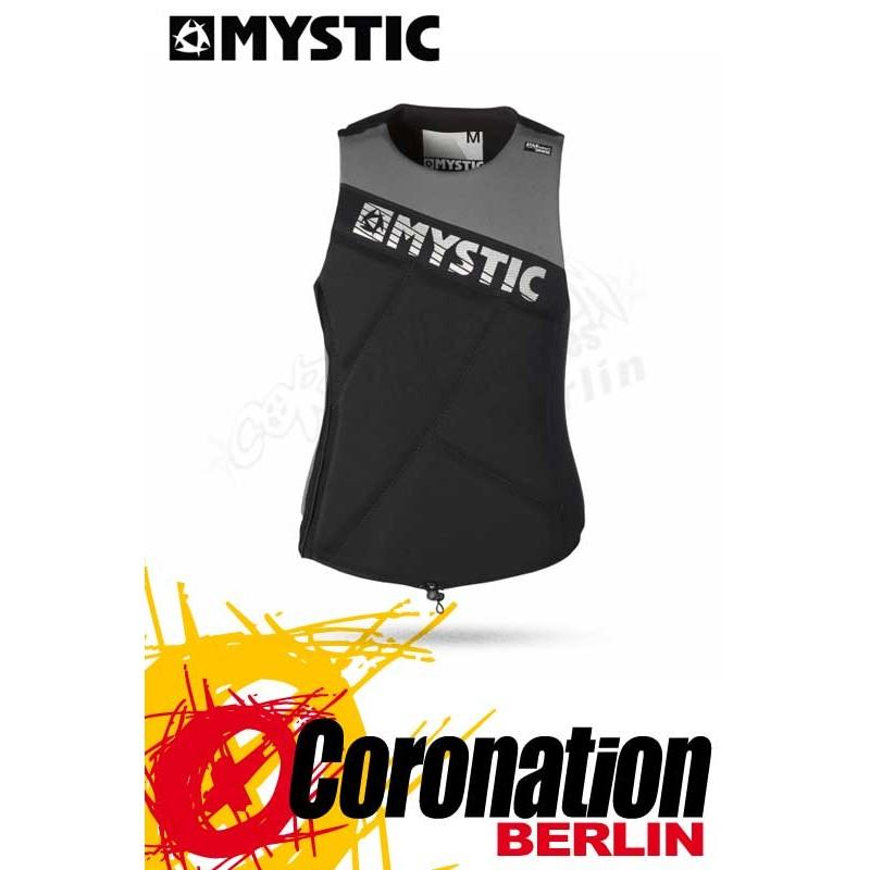 Mystic Star Wakeboard Vest Zip Black Prallschutz Impact Weste