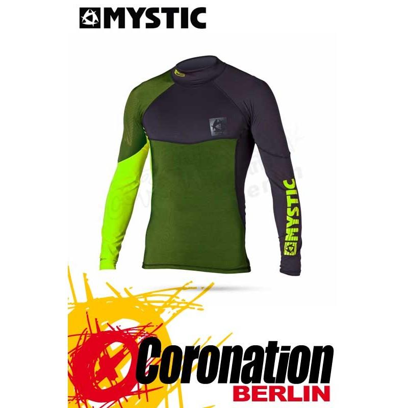 Mystic Crossfire Rash Vest L/S vert
