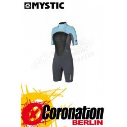 Mystic Star 3/2 D/L Shorty Women Flatlock neopren suit grey
